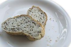 Concetto intero del cuoco dei semi di sesamo dell'alimento del pane Immagine Stock