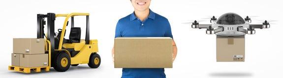 Concetto logistico Immagine Stock