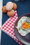 Concetto luminoso della prima colazione con l'uovo Fotografia Stock Libera da Diritti