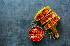 Concetto messicano di cucina Fotografie Stock