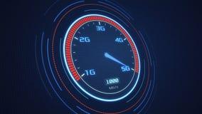 concetto mobile della rete 5G Immagini Stock