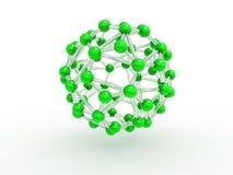 Concetto molecolare verde Immagine Stock Libera da Diritti