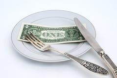 Concetto monetario Fotografie Stock