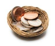 Concetto monetario Immagine Stock