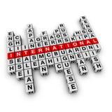 Concetto multilingue Immagini Stock