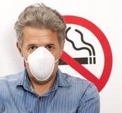 Concetto non fumatori Fotografie Stock