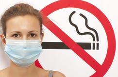 Concetto non fumatori Immagine Stock