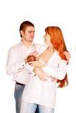 Concetto 'nucleo familiare'. fotografia stock libera da diritti
