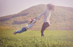 Concetto 'nucleo familiare' felice fotografia stock libera da diritti