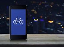 Concetto online del negozio della bici di affari Immagine Stock Libera da Diritti