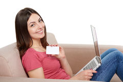 Concetto online di acquisto Immagini Stock
