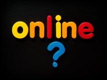 Concetto online di sicurezza Fotografia Stock Libera da Diritti