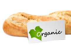 Concetto organico da un forno su fondo bianco fotografia stock libera da diritti