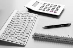 concetto per il commercio e la contabilità Immagine Stock