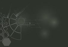 Concetto per l'affare corporativo & lo sviluppo di nuova tecnologia illustrazione vettoriale