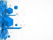 Concetto per l'affare corporativo & lo sviluppo di nuova tecnologia royalty illustrazione gratis