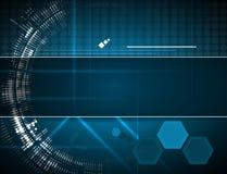 Concetto per l'affare corporativo & lo sviluppo di nuova tecnologia Fotografie Stock Libere da Diritti