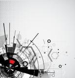 Concetto per l'affare corporativo & lo sviluppo di nuova tecnologia Immagini Stock Libere da Diritti