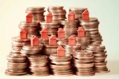 Concetto per l'investimento di bene immobile Fotografia Stock
