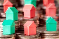 Concetto per l'investimento di bene immobile e di ipoteca Fotografia Stock Libera da Diritti