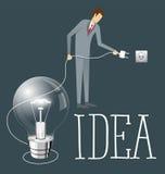Concetto piano di affari di vettore illustrazione vettoriale