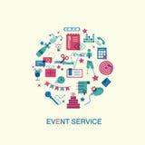 Concetto piano di vendita di evento di progettazione Fotografia Stock
