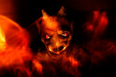 Concetto - profondità dell'inferno immagini stock