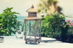 Concetto Ramadan Lamp/della lanterna Fotografia Stock