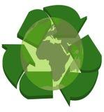 Concetto riciclato royalty illustrazione gratis