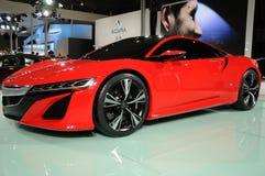 Concetto rosso di Acura NSX immagine stock