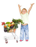 Concetto sano dell'alimento Fotografia Stock Libera da Diritti