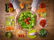 Concetto sano di cibo immagine stock