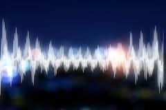 Concetto sano di musica immagini stock libere da diritti