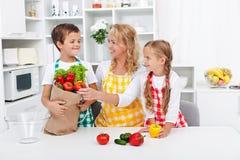 Concetto sano di nutrizione Fotografia Stock Libera da Diritti