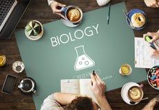 Concetto scientifico di ingegneria della genetica di biochimica immagini stock libere da diritti