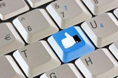 Concetto sociale del collegamento di rete di media Fotografia Stock Libera da Diritti
