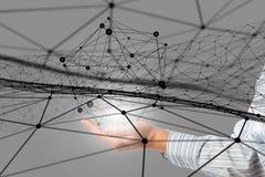 Concetto sociale di interazione Immagine Stock Libera da Diritti