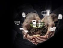Concetto sociale di interazione 3d rendono Immagine Stock Libera da Diritti
