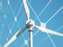 Concetto sostenibile di energia Fotografia Stock Libera da Diritti