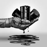 Concetto sporco del combustibile Immagini Stock Libere da Diritti