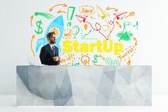 Concetto Startup Fotografie Stock Libere da Diritti