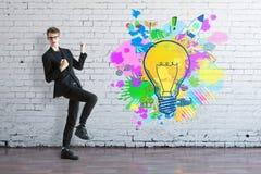 Concetto Startup di idee Immagini Stock