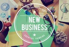 Concetto Startup di pianificazione di nuova imprenditorialità di affari Fotografia Stock Libera da Diritti