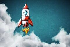 Concetto Startup e nuovo di affari illustrazione di stock