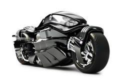 Concetto su ordinazione futuristico del motociclo illustrazione vettoriale