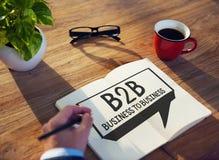 Concetto tra imprese di industria di Marketing Company Fotografia Stock