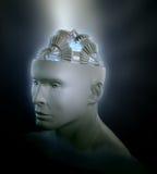 Concetto umano di intelligenza Fotografia Stock