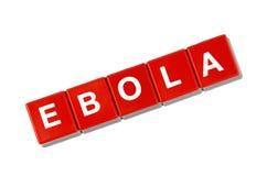 Concetto vaccino di scoperta di ebola immagine stock libera da diritti