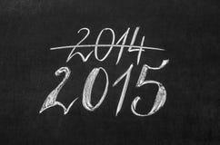 Concetto venente del nuovo anno Immagini Stock