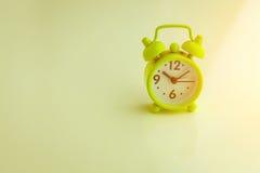 Concetto verde dell'annata della sveglia jpg Fotografia Stock Libera da Diritti